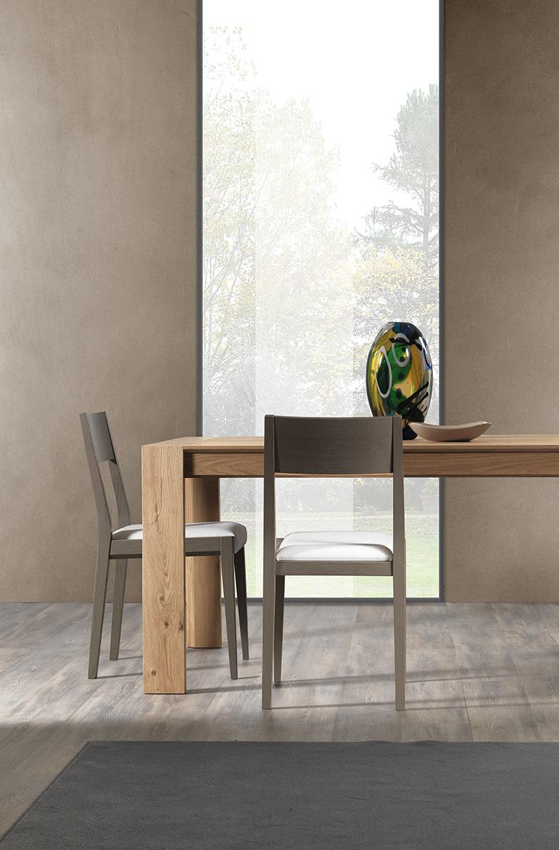 Sedie in legno produzione artigianale pizzolato tavoli for Sedie design treviso